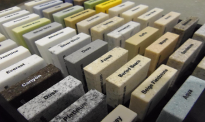 Corian Colour Choices