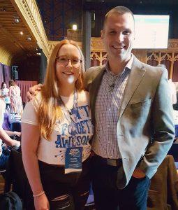Danielle Walton and Marcus Sheridan at CMA Live 2017