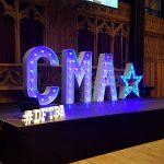 CMA Live 2017 Stage Set Up #DFTBA