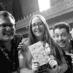 Danielle Walton and Andrew and Pete at CMA Live 2017