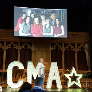 Pam Laird at CMA Live 2017