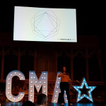 Karen Reyburn at CMA Live 2017