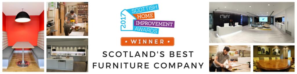 Scotland's Best Furniture Company 2017 - Colinton Furniture