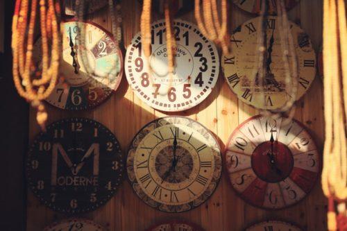 Time Clocks Antique